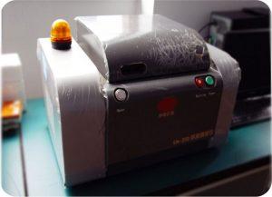 Laser nondestructive coating thickness gauge