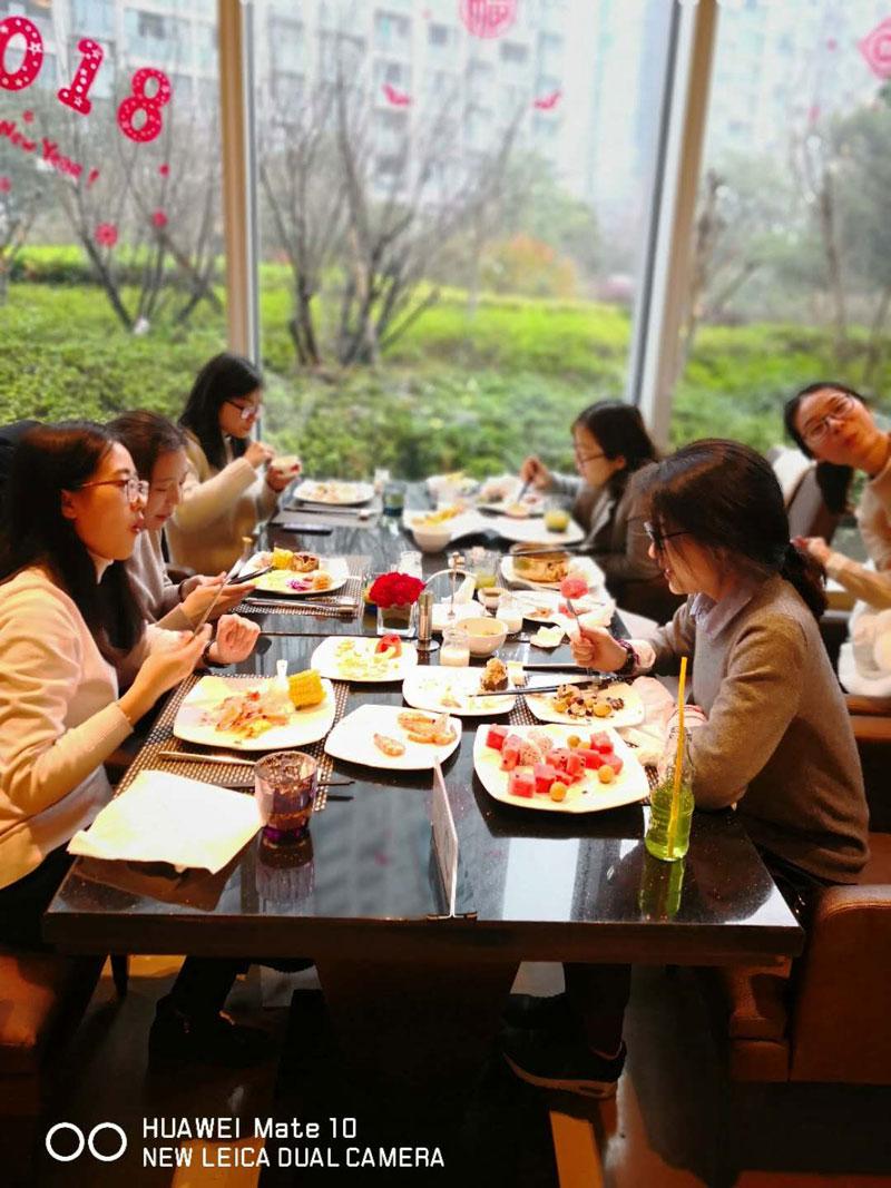 Company Celebration In A Five Start Hotel