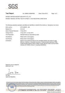 certificate sgs part1