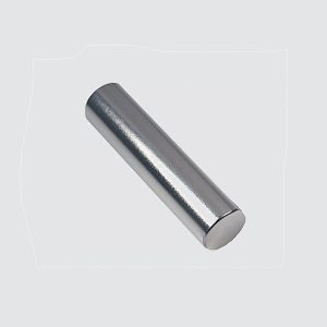 N35 D6x10mm Rare Earth Rod Magnet Nickel Coated