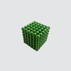 N35 D5mm Green Neo Sphere Magnet Toy Application