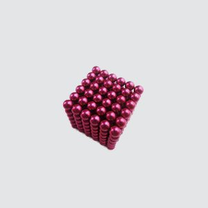 N35 D5mm Neodymium Sphere Magnet Red Color