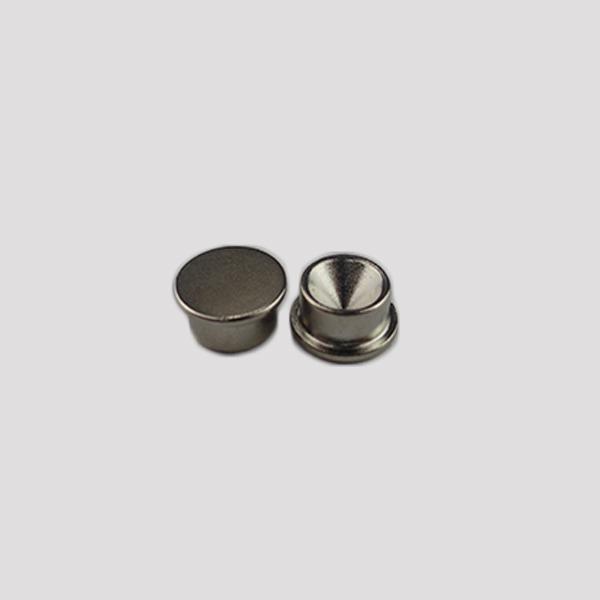 N52 D2.7x4.7mm Nickel Irregualr Permanent Magnet