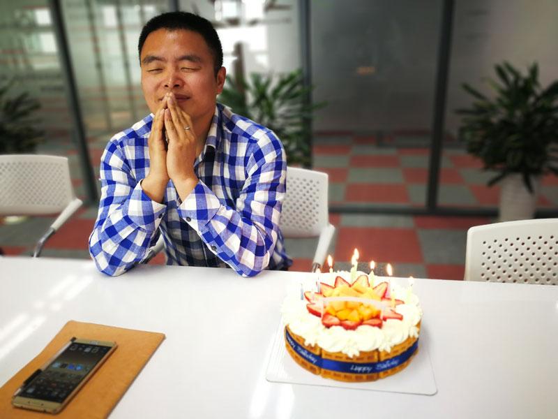 We Are Celebrating Birthday For Steve